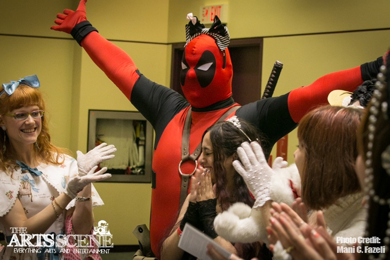 Fan Expo 2012: Day 4 in Photos