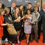 Linda Schuyler, Stephen Stohn, Brendon Yorke, David Lowe, Stephanie Williams, Stefan Brogren, Jahmil French, Charlotte Arnold, Aislinn Paul, Melinda Shankar, Phil Earnshaw - Canadian Screen Awards 2013 Industry Gala 2