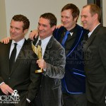Tim Steeves, Rick Mercer, Chris Finn, George Westerholm - Canadian Screen Awards 2013 Industry Gala 2