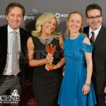 Bill Mustos, Anne Marie la Traverse, Stephanie Morgenstern & Mark Ellis - Canadian Screen Awards 2013 Industry Gala 2
