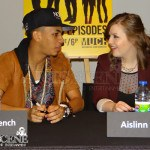 Jahmil French & Aislinn Paul - FanZone: 2013 Canadian Screen Awards
