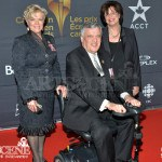 Lieutenant Governor of Ontario, His Honour David Onley & wife - Canadian Screen Awards 2013