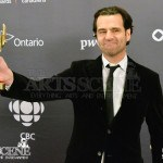 Jason Buxton, Claude Jutra Award winner for Blackbird - Canadian Screen Awards 2013
