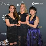 Stacey Aglok MacDonald, Miranda de Pencier, Ippiksaut Friesen - Best Short - Throat Song - Canadian Screen Awards 2013