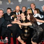 Ira Levy, Peter Williamson, Phyllis Laing, Marvin Kaye, Chris Sheasgreen, Mark McKinney, Paula Smith, Brooke Palsson, Wendel Meldrum - Best Comedy Program - Less Than Kind - Canadian Screen Awards 2013