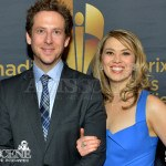 Matt Baram & Naomi Snieckus - Canadian Screen Awards 2013
