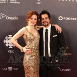 Adam Korson & Carrie-Lynn Neales - Canadian Screen Awards 2013