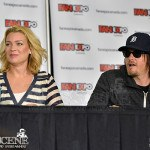 Laurie Holden & Norman Reedus - Fan Expo 2013